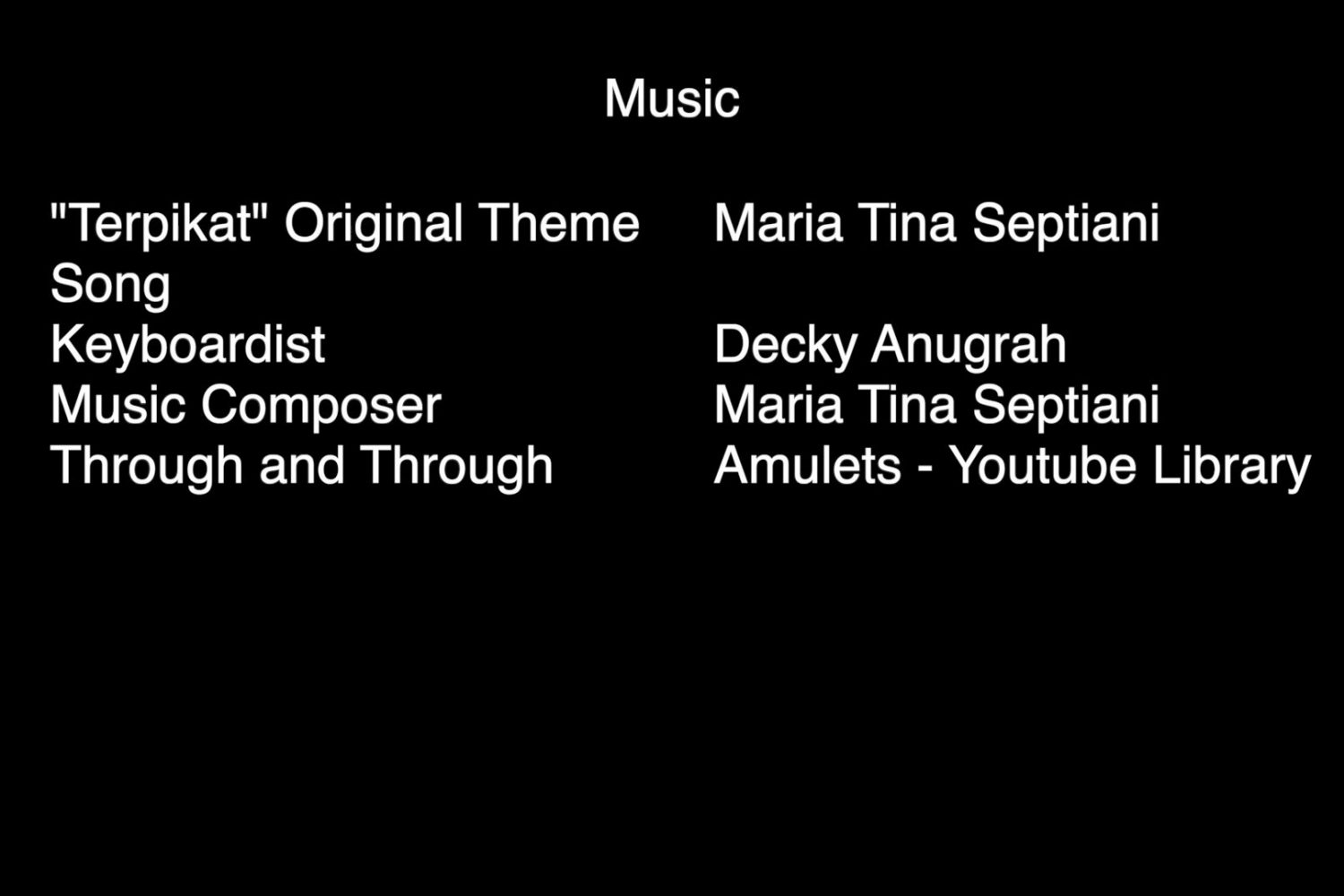 02 - Credit Title Music Film Voice Potion For My Mother oleh Cinestars Film